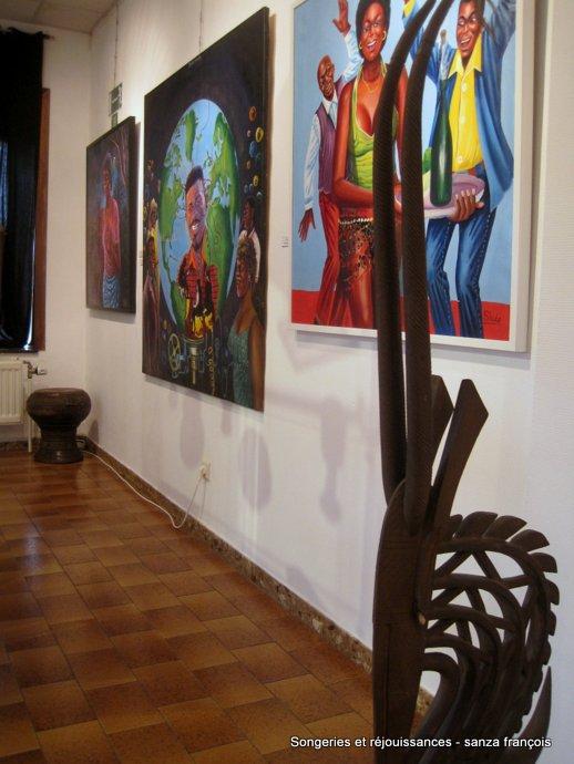 philippe pellering,boris vanhoutte,shula,moke,chéri cherin,sam ilus,musée du masque de binche,musée africain de namur,centre culturel le sablon morlanwelz